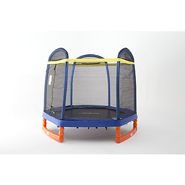 SKYBOUND 7' Super Trampoline Combo w/ Enclosure