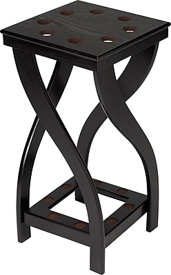 Cuestix Twist 8 Cue Floor Rack; Midnight