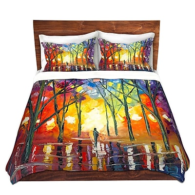 DiaNocheDesigns Reflections of the Soul Duvet Cover Set; Twin