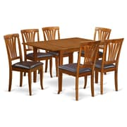East West Milan 7 Piece Dining Set