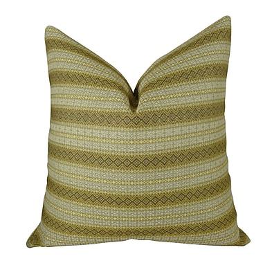Plutus Brands Full Stripe Handmade Throw Pillow; 12'' H x 20'' W