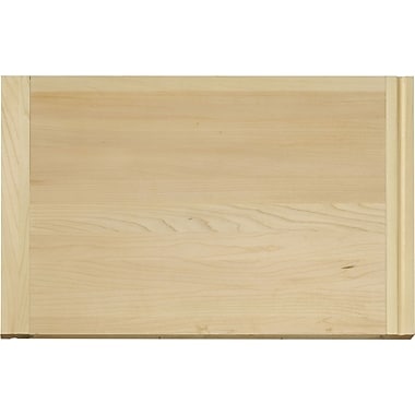 Vance Industries Hardwood Routed Pull-out Cutting Board; 14'' H x 22'' W x 0.75'' D