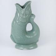 Wade Ceramics Gluggle Jugs 38 Oz. Pitcher; Sage Green