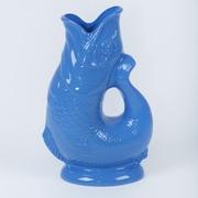 Wade Ceramics Gluggle Jugs 2 Oz. Pitcher; Sea Blue