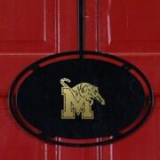 HensonMetalWorks NCAA Classic Overdoor Hanger; University of Memphis