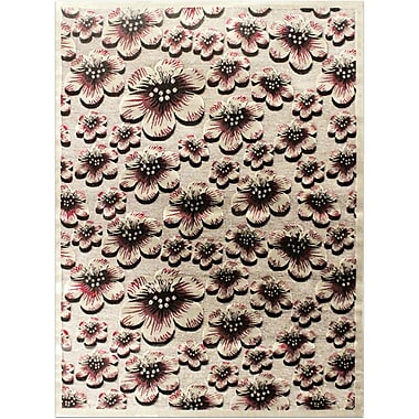 Bekmez International Inc. Shonil Gray Area Rug; 5'3'' x 7'5''