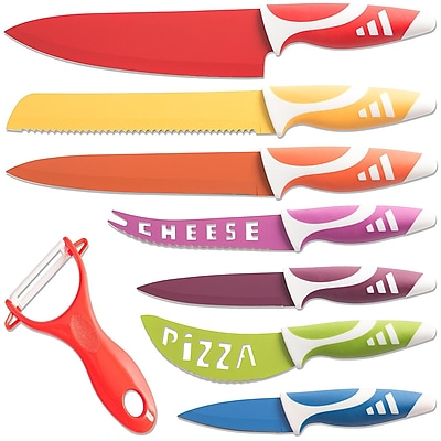 OxGord 8 Piece Professional Chef Knife
