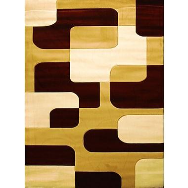 Bekmez International Inc. Labella Brown Area Rug; 3'11'' x 5'3''