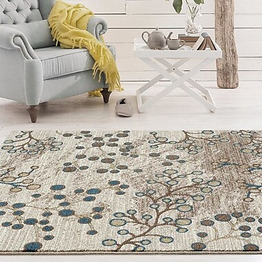 Persian-rugs Beverly Beige Area Rug; 2'2'' x 7'6''