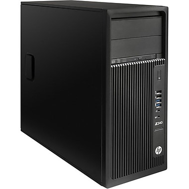 HP Z240 Tower Workstation, Intel® Core™ i7-6700 3.40GHz, 16GB RAM, 256GB SSD, Windows 10 Pro