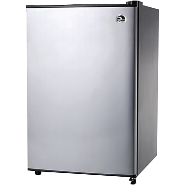 Igloo 3.2 cu ft Refrigerator With Platinum Finish (CURFR321IPC)