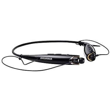 Sylvania Bluetooth Sport Headphones With Microphone, Black (CURSBT129BLACK)