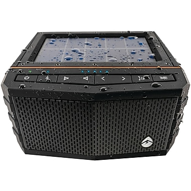 Ecogear Gdi-exsj401 Soljam Solar-powered Waterproof Speaker, Black