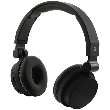 iLive Bluetooth Headphones With Microphone, Matte Black (GPXIAHB45B)