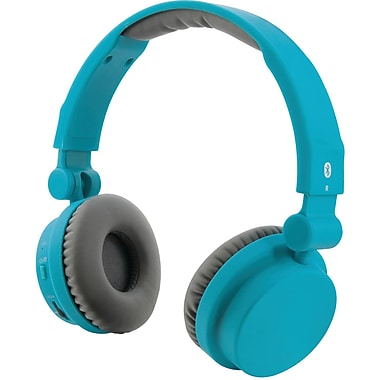 iLive Bluetooth Headphones With Microphone, Matte Teal (GPXIAHB45TL)