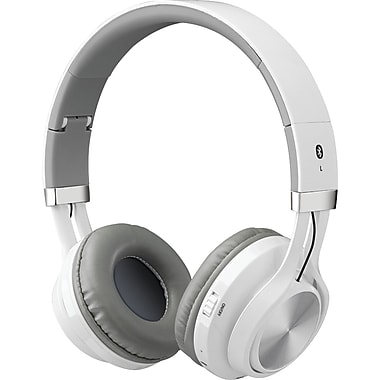 iLive Bluetooth Headphones With Microphone, White (GPXIAHB56W)