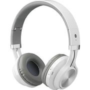 Ilive Iahb56w Bluetooth® Headphones With Microphone (white)