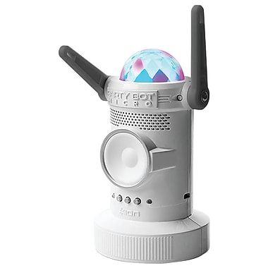ION Irb02 Party Bot Micro Motorized Bluetooth Speaker