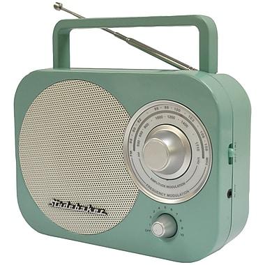 Studebaker Portable AM/FM Radio, Teal (JENSB2000TE)