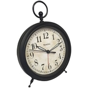 Westclox 75043 Top Ring Decor Alarm Clock