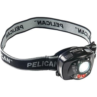 PELICAN 027200-0101-110 200-Lumen 2720 3-Mode Gesture-Activated LED Headlamp
