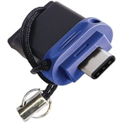 Verbatim 99153 Store 'n' Go Dual USB Flash Drive For USB-c Devices (16GB)
