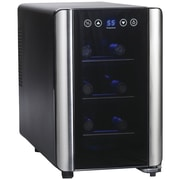 Wine Enthusiast 2720307 Silent 6-bottle Touchscreen Wine Cooler