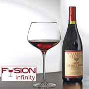 Wine Enthusiast 7340104 Fusion Infinity Pinot Noir Wine Glasses, 4 Pk