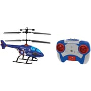 World Tech Toys 2-Channel Marvel IR Helicopter with LED Lights, Captain America (WTT34898)
