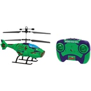 World Tech Toys 2-Channel Marvel IR Helicopter with LED Lights, The Hulk (WTT34900)