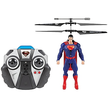 World Tech Toys 2-Channel DC Comics IR Helicopter, Superman (WTT35888)
