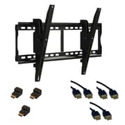 "KIT ATLANTIC 37-84"" Tilting Mount with HDMI Cables and Adapters"