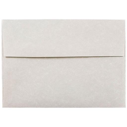 jam paper a7 invitation envelopes 5 25 x 7 25 parchment pewter