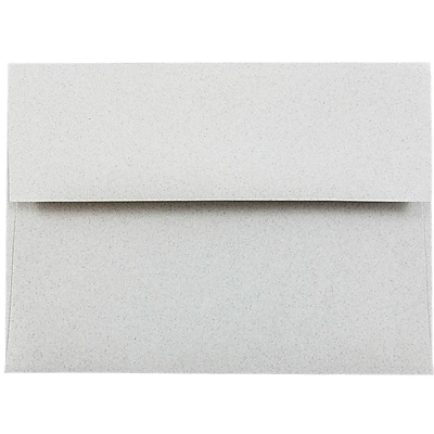 JAM Paper A6 Invitation Envelopes 475 x 65 Granite Grey