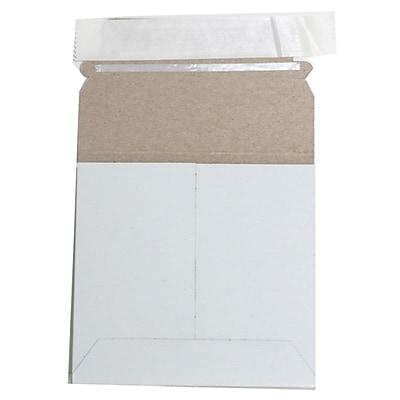 JAM Paper® Photo Mailer Stiff Envelopes with Self Adhesive Closure, 6 x 6 Square, White, 6/Pack (73286B)