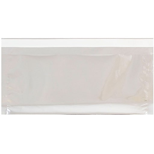 JAM Paper® #10 Business Foil Envelopes with Self-Adhesive Closure, 4.125 x 9.5, Silver, 25/Pack (1323306)