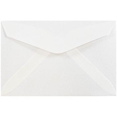 JAM Paper® 3drug Mini Small Envelopes, 2 5/16 x 3 5/8, Platinum Translucent Vellum, 100/pack (1591564A)
