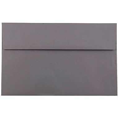 JAM Paper® A10 Invitation Envelopes, 6 x 9.5, Dark Grey, 1000/carton (36396437B)