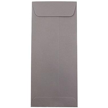 JAM Paper® #10 Policy Envelopes, 4 1/8 x 9 1/2, Dark Grey, 1000/carton (36396445B)