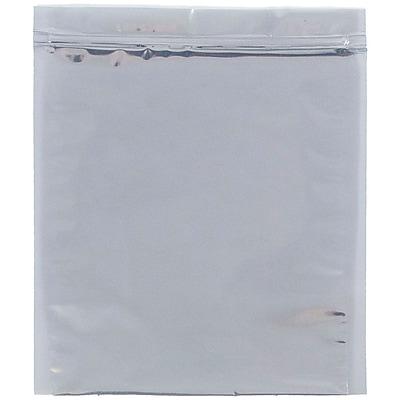 JAM Paper® Foil Envelopes with Zip Lock Closure, 10 x 13, Clear Foil, 25/pack (3001013A58A4)