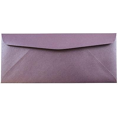JAM Paper® #10 Business Envelopes, 4 1/8 x 9 1/2, Stardream Metallic Ruby Purple , 1000/carton (V018288B)