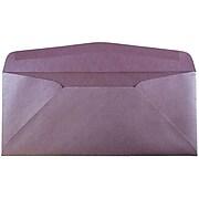 JAM Paper® #10 Metallic Business Envelopes, 4.125 x 9.5, Stardream Ruby Purple, Bulk 500/Box (V018288H)