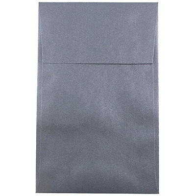 JAM Paper® A10 Policy Envelopes, 6 x 9.5, Stardream Metallic Anthracite Black, 250/box (V018305H)
