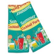 Island Girl Home Garden Cocktail Party Hand Towel  (Set of 2)