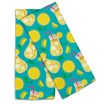 Island Girl Home Garden Lemonade Hand Towel (Set of 2)