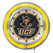 Holland Bar Stool NCAA 19'' Neon Clock; Central Florida University