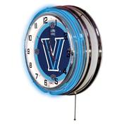 Holland Bar Stool NCAA 19'' Neon Clock; Villanova Wildcats
