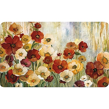 Home Dynamix Soothing Chef Spring Poppies Mat