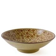 Miya Company Sepia Karakusa Serving Bowl