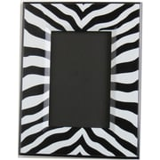 Presto Chango Decor Zebra Print Picture Frame